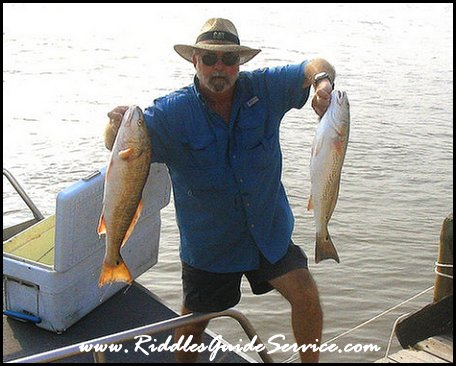 Capt. Jimmy Riddle, Matagorda fishing guide, fishing East and West Matagorda Bays, the Colorado River.